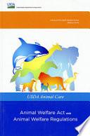 USDA Animal Care  Animal Welfare Act and Animal Welfare Regulations