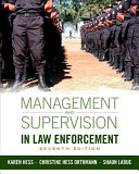 download ebook management and supervision in law enforcement pdf epub