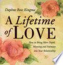 A Lifetime of Love