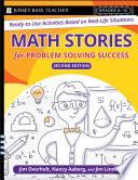 Math Stories For Problem Solving Success