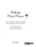 Making Plant Places