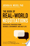 The Book of Real World Negotiations Book PDF