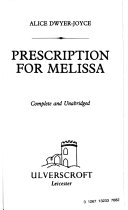 Prescription For Melissa