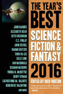 The Year s Best Science Fiction   Fantasy 2016 Edition