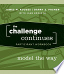The Challenge Continues  Participant Workbook