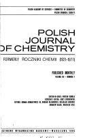 Polish Journal of Chemistry