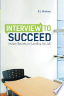 Interview to Succeed