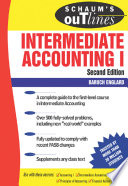 Schaum s Outline of Intermediate Accounting I   2ed