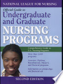 Guide to Undergraduate and Graduate Nursing Programs