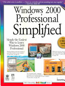 Windows 2000 Professional Simplified