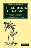 Book The Elements of Botany