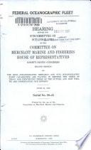 Federal Oceanographic Fleet Book PDF