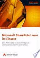 Microsoft SharePoint Server 2007 im Einsatz