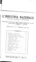 L industria nazionale rivista mensile dell autarchia