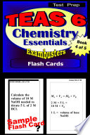 TEAS 6 Test Prep Chemistry Review  Exambusters Flash Cards  Workbook 4 of 5