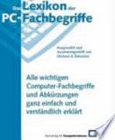 Das Lexikon der PC-Fachbegriffe