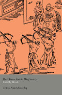 download ebook the chinese state in ming society pdf epub