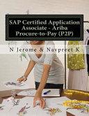 SAP Certified Application Associate - Ariba Procure-To-Pay (P2P)
