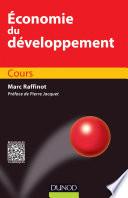 Economie du développement