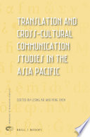 Translation and Cross Cultural Communication Studies in the Asia Pacific