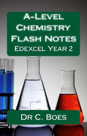 A-Level Chemistry Flash Notes Edexcel Year 2 (2015)