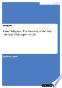 The Remains Of The Day Pdf/ePub eBook