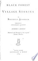 Black Forest Village Stories