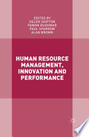 Human Resource Management  Innovation and Performance
