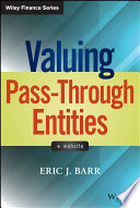 Valuing Pass Through Entities