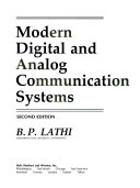 Modern Digital & Analog Communications Systems 2e