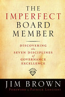 The Imperfect Board Member Book