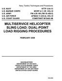 Navy Tactics Techniques and Procedures Nttp 3 04 13 Multiservice Helicopter Sling Load