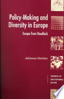Policy Making and Diversity in Europe Book PDF