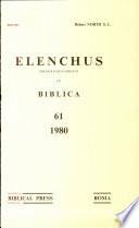 Elenchus  Vol  61