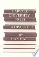 Harvard University Press book
