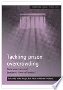 Tackling prison overcrowding