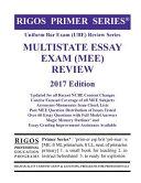 Rigos Primer Series Uniform Bar Exam Ube Review Multistate Essay Exam Mee 2017