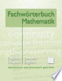 Fachwörterbuch Mathematik