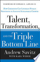 Talent  Transformation  and the Triple Bottom Line
