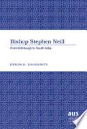 Bishop Stephen Neill