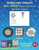 Fall Paper Crafts 28 Snowflake Templates Easy To Medium Difficulty Level Fun Diy Art And Craft Activities For Kids