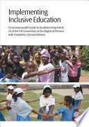 Implementing Inclusive Education