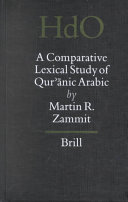 A Comparative Lexical Study of Qur    nic Arabic
