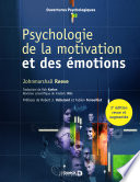 Psychologie de la motivation et des   motions
