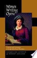 Women Writing Opera