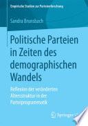 Politische Parteien in Zeiten des demographischen Wandels