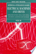 Artificial Intelligence based Electrical Machines and Drives