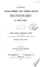 A Universal English-German and German-English Dictionary