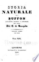 Storia naturale di Bufon  Quadrupedi