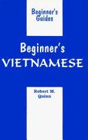 Beginner s Vietnamese